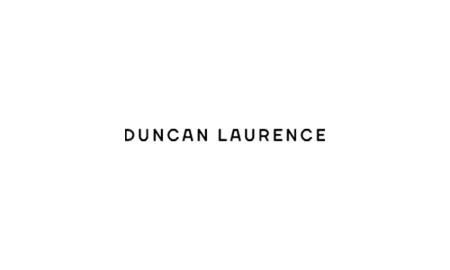 Website voor Duncan Laurence